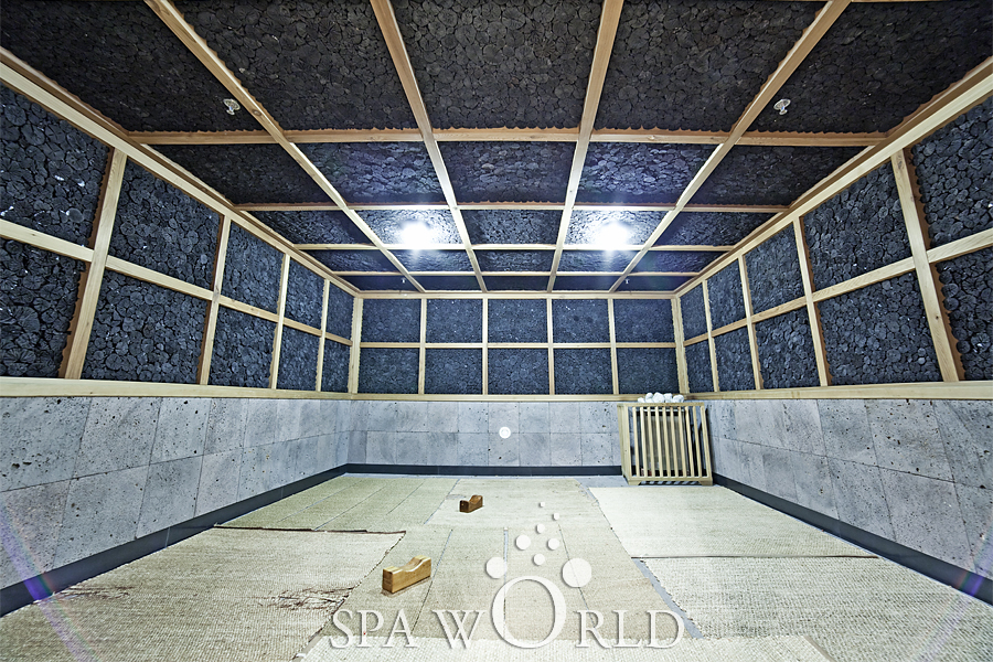 Oak Wood Charcoal Room